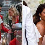 Sophie Turner, Joe Jonas Twin in Black, Priyanka Chopra Looks Stunning in White at Pre-wedding Bash
