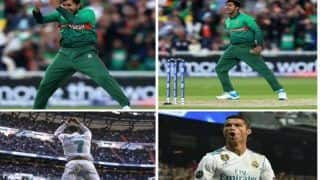 What Stuff Admin is Smokin' These Days! Fans Troll ICC For Comparing Sarkar With Ronaldo | POSTS