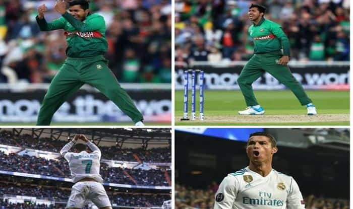ICC Cricket World Cup 2019: Fans Brutally Troll ICC For Comparing Soumya Sarkar With Cristiano Ronaldo During Australia vs Bangladesh Match in Nottingham | POSTS