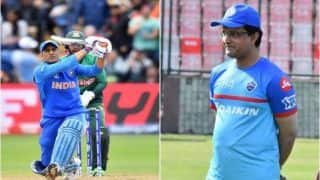 BCCI President Sourav Ganguly to Discuss MS Dhoni's Future With Team India Selectors on October 24