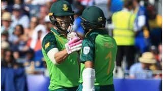 ICC World Cup 2019: दक्षिण अफ्रीका की बड़ी जीत, श्रीलंका को 9 विकेट से हराया