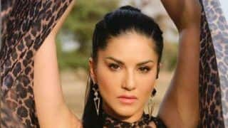 Sunny Leone Strikes a Pose in Leopard Print Dress And Her Fans Can't Keep Calm