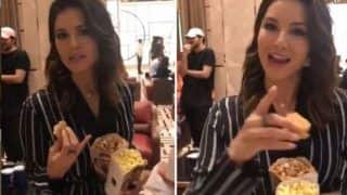Sunny Leone Food Bombs And Accuses Friend of Stealing Her Food at Bharat Premiere - Watch Hilarious Video