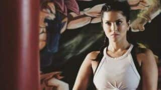 Sunny Leone's 'Game is on' as She Gears up For Her Intense Boxing Training