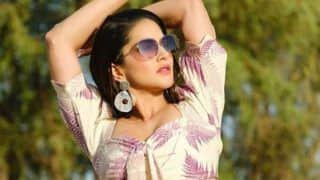 Sunny Leone Collapses After Getting Shot at Night, Raises Concern of Co-Actor Dev Gill And Team Members