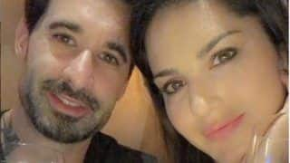 Sunny Leone Shares Adorable Picture With Hubby Daniel Weber as They Sip Wine During Dinner Date