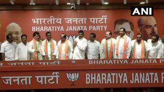 टीडीपी, कांग्रेस को फिर झटका, तेलंगाना के कई नेता बीजेपी में शामिल