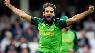 ताहिर के नाम दर्ज हुआ रिकॉर्ड, द.अफ्रीका के लिए 100 वनडे खेलने वाले दूसरे स्पिनर