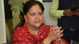 गहलोत सरकार पर वसुंधरा राजे का हमला, कहा- कांग्रेस की अंदरूनी लड़ाई का खामियाजा राजस्थान की जनता भुगत रही है