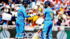 IND vs WI Icc World Cup 2019: मुश्किल में टीम इंडिया, कोहली समेत 5 बल्लेबाज पवेलियन लौटे