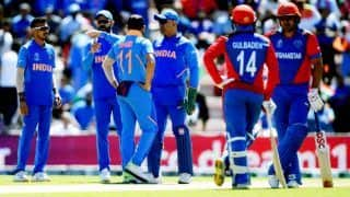 ICC Cricket World Cup 2019 MATCH HIGHLIGHTS: Kohli, Shami Power India to Thrilling 11-Run Win Over Afghanistan
