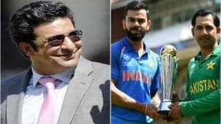 ICC Cricket World Cup 2019, India vs Pakistan: Wasim Akram Sends Special Message For Indo-Pak Fans Ahead of WC Match in Manchester