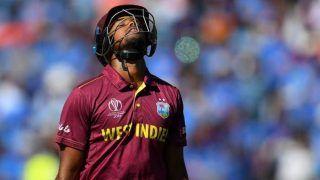 भारत से हारकर सेमीफाइनल की दौड़ से बाहर होने वाली तीसरी टीम बनी विंडीज