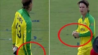 विश्वकप 2019: तो क्या सच में एडम जाम्पा ने की बॉल टेम्परिंग, फिंच ने दिया जवाब