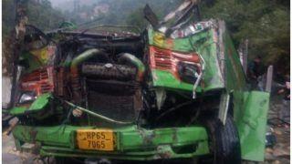हिमाचल प्रदेश के कुल्लू में बड़ा हादसा, बस खाई में गिरने से 43 लोगों की मौत, 35 घायल