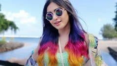 Purple, Pink, Orange अदा शर्मा ने पूरे बालों को रंग डाला, देखिए बोल्ड लुक