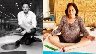 Akshay Kumar's 75-Year-Old Mother Performs Yoga Post Her Knee Surgery to Celebrate International Yoga Day