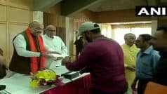 Amit Shah in J&K: Home Minister Hands Out Cheques to Families of BJP Workers Killed by Terrorists
