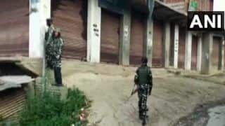 Encounter Breaks Out in J&K's Anantnag, Army Jawan Martyred, 2 Terrorists Killed