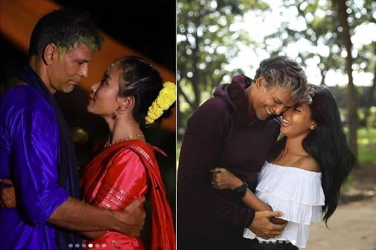 Milind Soman S Wife Ankita Konwar Shares How The Two Met For The