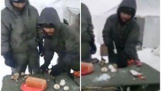 VIDEO: सियाचिन में हथौड़े से अंडे तोड़ते हैं हमारे सैनिक, पेट भरने को करते हैं ऐसी मशक्कत