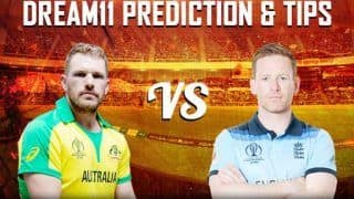 Dream11 Team England vs Australia ICC Cricket World Cup 2019 - Cricket Prediction Tips For Today's World Cup Match ENG vs AUS at Lord's, London
