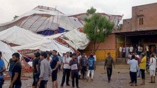Rajasthan: 14 Killed, 50 Injured in Barmer Tent Collapse During 'Ram Katha'; CM Announces ex-gratia