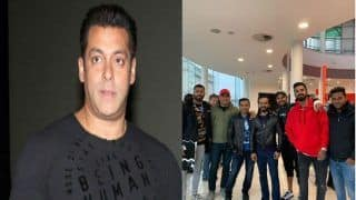 टीम इंडिया ने इंग्लैंड में देखी सलमान की 'भारत', खान ने दी शुभकामनाएं कहा- जीत कर आना