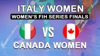 Dream11 Team Prediction Italy Women vs Canada Women in Women's Series Finals Valencia 2019 - Hockey Prediction Tips For Today's Match ITA-W vs CAN-W at Estadio Betero,Valencia