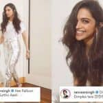 Ranveer Singh's PDA Comments on Deepika Padukone's Latest Pictures Will Make You Love Them Even More