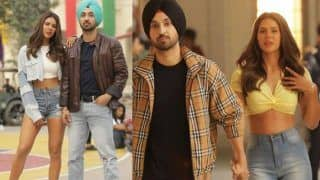 Sonam Bajwa And Diljit Dosanjh Look Hot Together in All Denim as They Will be Seen in 'Tommy' Song From Shadaa
