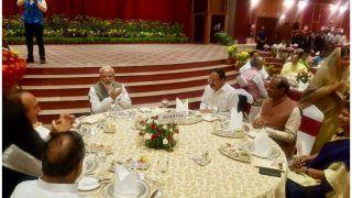 पीएम मोदी ने संसद सत्र के बीच सांसदों को कराया डिनर, पहुंचे ये दिग्गज नेता