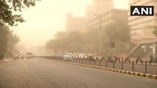 After Heatwave, Dust Storm Hits National Capital, Ops Resumed at IGI Airport