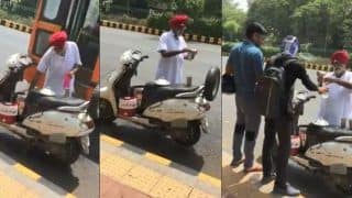 Elderly Sikh Man Quenches Thirst of Pedestrians in Delhi's Heat And Netizens Are Full Of Praise