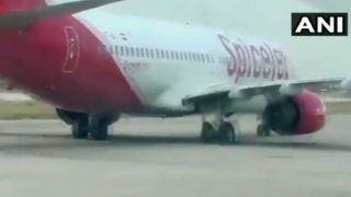 दुबई से जयपुर आ रही फ्लाइट का फटा टायर, हुई इमरजेंसी लैंडिग