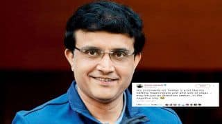 Guessing Game At Its Peak As Sourav Ganguly Drops Twitter Bomb | SEE POST