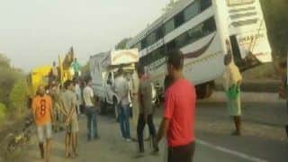 11 Killed, 25 Injured After Brakes of Their Bus Fail Near Danuwa Ghati in Hazaribagh