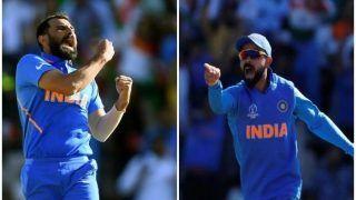 ICC World Cup 2019: शमी की ऐतिहासिक हैट्रिक से भारत ने पूरा किया जीत का अर्धशतक