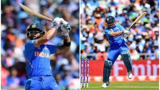 ICC World Cup 2019: कोहली-धोनी के अर्धशतकों की बदौलत भारत ने विंडीज को दिया 269 रनों का लक्ष्य