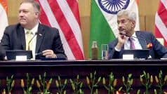 Mike Pompeo Visit: US-India Partnership Beginning to Reach New Heights, Says US Secy