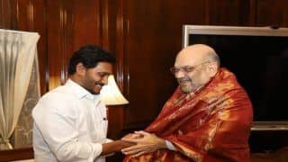 Andhra CM Jagan Meets Union Home Minister to Press For Special Category Status For Andhra