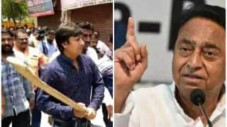 कमलनाथ की BJP MLA को नसीहत, 'बल्ला मैच की जीत का प्रतीक होना चाहिए, प्रजातंत्र की हार का नहीं'