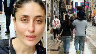 Taimur Ali Khan Continues to Have Piggyback Rides in London, New Photo of Kareena Kapoor-Saif Ali Khan Out
