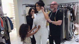 Kim Kardashian's Daughter North West Assists Her in Getting Ready For Anniversary Date