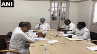 Manmohan Singh Holds Meeting With Congress CMs as Rahul Gandhi Jets Off to London