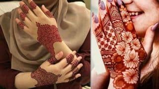 Mehndi Designs For Eid-Ul-Fitr 2019: Latest Arabic Trendy And Unique Patterns to Celebrate Eid- Check DIY Designs