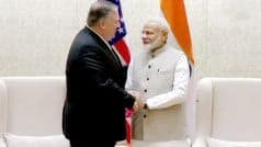 Mike Pompeo India Visit LIVE: US Secy of State Meets PM Narendra Modi