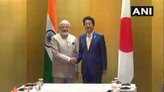 G20 Summit LIVE: PM Modi Meets His Japanese Counterpart Shinzo Abe in Osaka