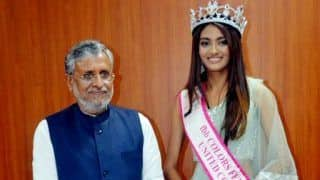 Bihar Deputy CM Meets Miss India 2019 in Office. Encephalitis Death Toll Reaches 185 in State