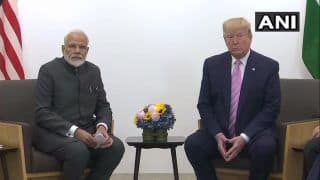 G20 Summit: PM Modi, US President Donald Trump Discuss Trade, Defence, 5G & Iran